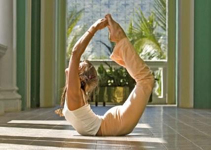 Аштанга йога — падангуштха дханурасана