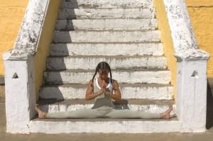 Аштанга йога — самаконасана