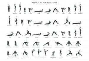 Аштанга йога — первая серия асан